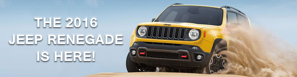 The 2016 Jeep Renegade Is Here!