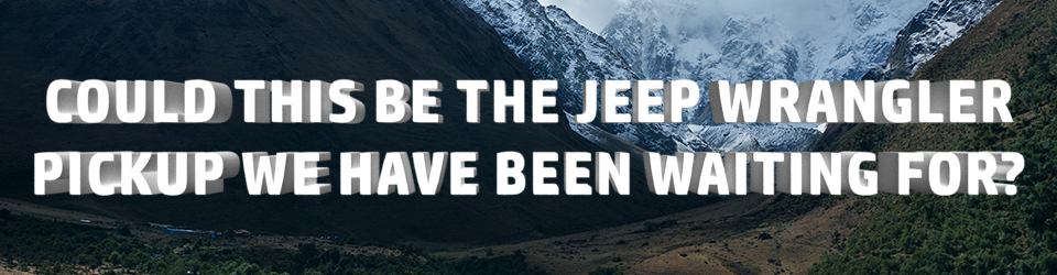 Metro Blog Banner - Jeep Pickup