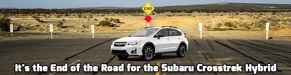 Bertera West Springfield >> It's the end of the road for the Subaru Crosstrek Hybrid ...