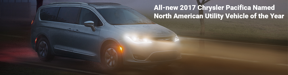 All New 2017 Chrysler Pacifica Recieves North American