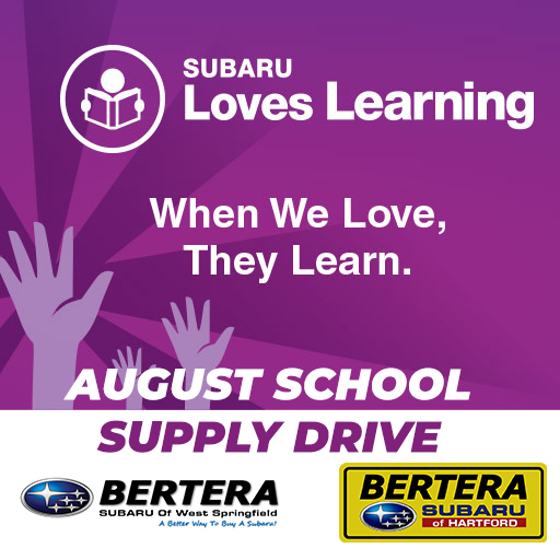 Subaru Loves Learning│August School Supply Drive - Bertera ...