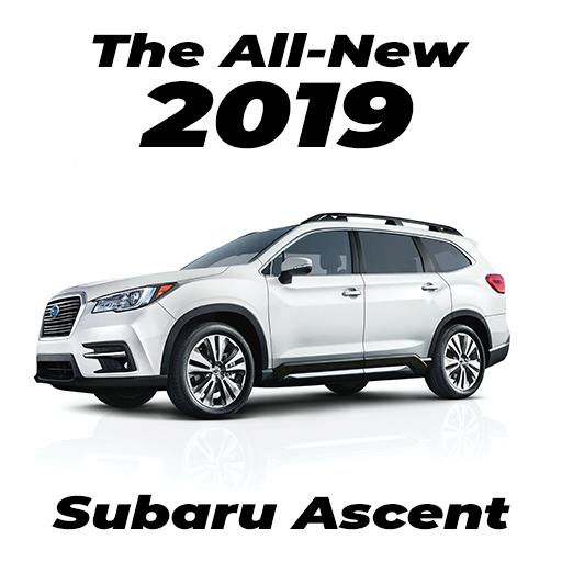 The All-New 2019 Subaru Ascent